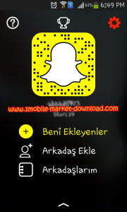 indir Snapchat ücretsiz 2016 Türkçe Android