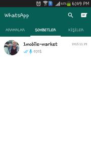 Indir WhatsApp Ücretsiz Android son sürüm 2016 Türkçe